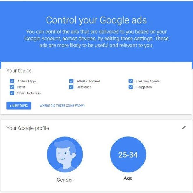 control google ads